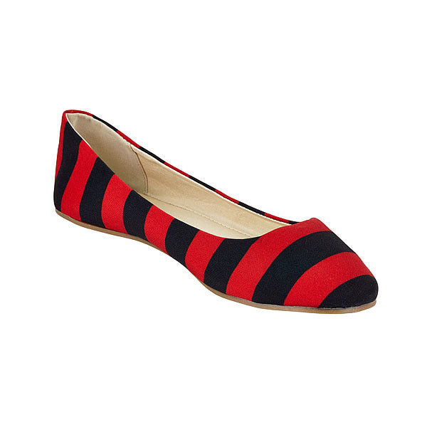 Red & Black Flats - Lillybee Style
