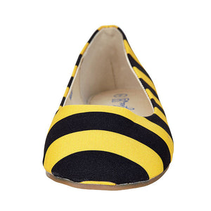 Black & Gold Flats - Lillybee Style