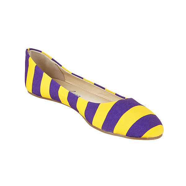 Purple & Gold Flats - Lillybee Style