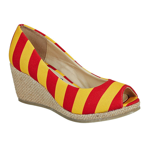 Red & Gold Wedges
