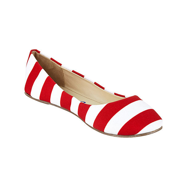Red & White Flats - Lillybee Style
