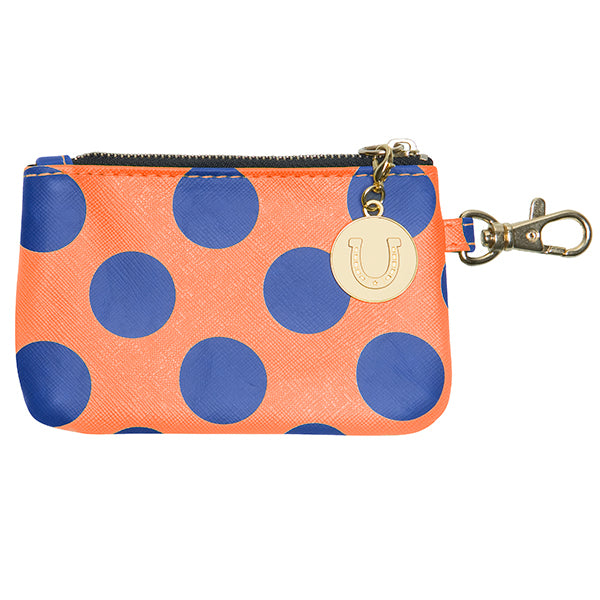 Royal Blue & Orange ID Case