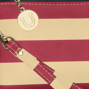 Garnet & Old Gold Wristlet - Lillybee Style