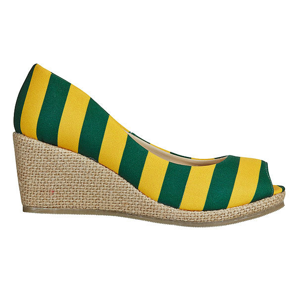 Green & Gold Wedges