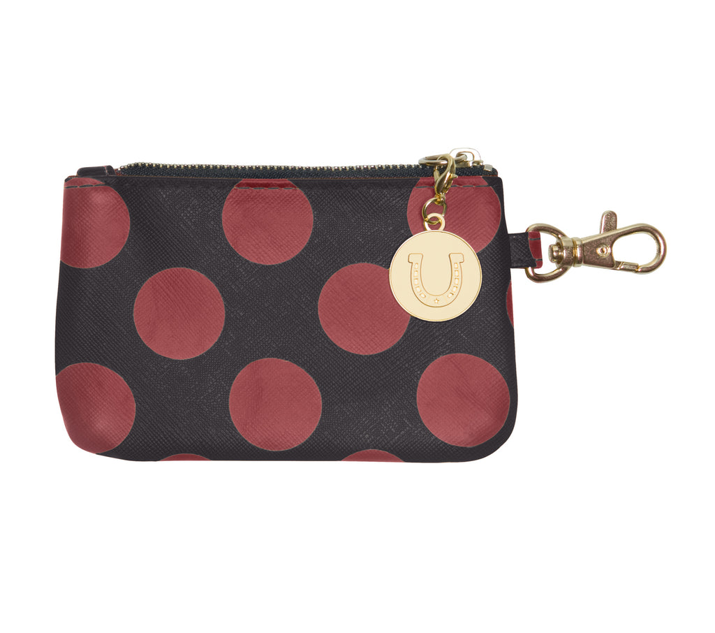 Garnet & Black ID Case