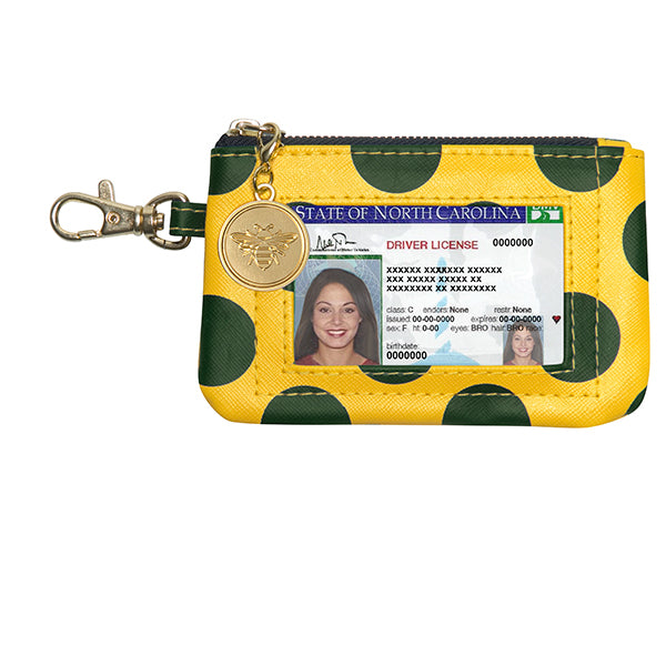 Green & Gold ID Case - Lillybee Style