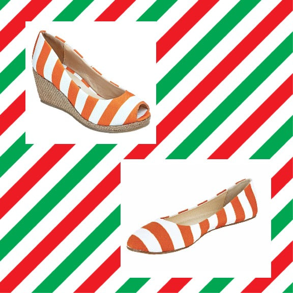 Burnt Orange and White Holiday Collection - Lillybee Style