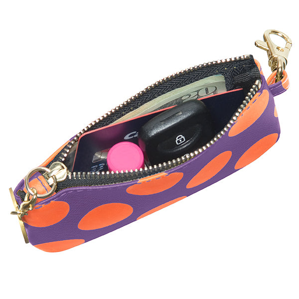 Purple & Orange ID Case - Lillybee Style