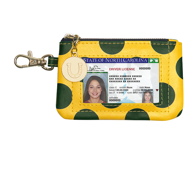 Green & Gold ID Case