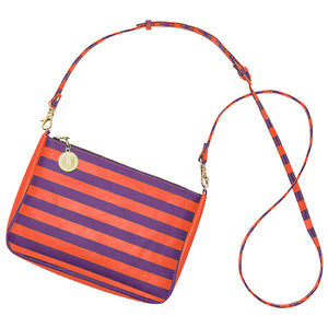 Purple & Orange Crossbody Bag - Lillybee Style