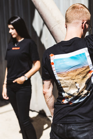 Leading Second Negev Desert Tee - Black