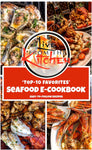 "LiveFromTheKitchen's ""Top 10 Favorites"" Seafood E-Cookbook!"