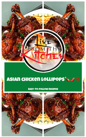 Asian Chicken Lollipops Recipe!