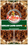 Grilled Lamb Chops Recipe!