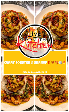 Curry Lobster & Shrimp Recipe!