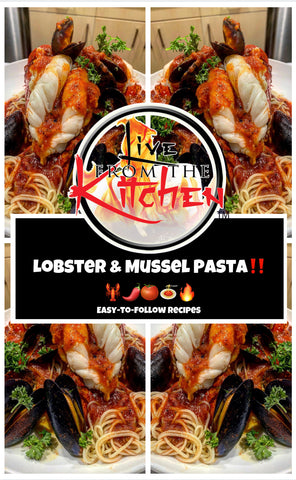 Lobster & Mussel Pasta Recipe!