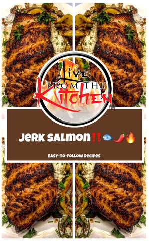 Jerk Salmon Recipe!