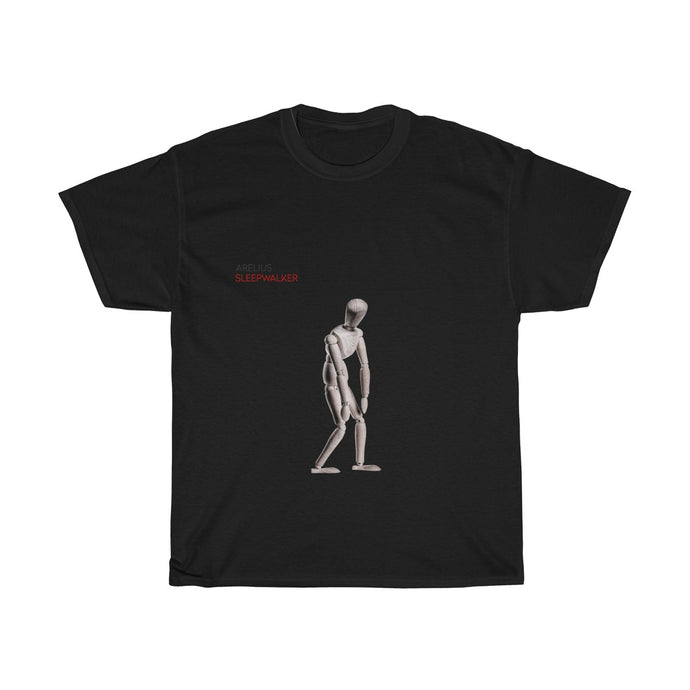 Arelius Sleepwalker - Unisex Heavy Cotton Tee (In All Colors). Buy a T-Shirt and get either a Lucid Dreamin' OR Sleepwalker Compilation for FREE. Add the 2 items to your cart and enter code:- BFDTshirt+Music