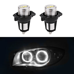 1 pari BMW E90 Valkoinen 6000k 2X6W Led Angel Eyes Light Led Angel Eyes Lamppu BMW E90 Sedan / Saloon 03.2005-09.2008