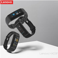 Lenovo HX03F Smart Watch Bluetooth 4.2 Sykemittari tukee iOS Androidia