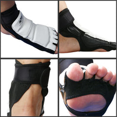 Taekwondon jalkasuoja KTA Offical Competition Fighting Feet Guard Kicking Box jalka