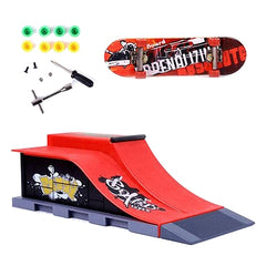 Skate Park Ramp osat Tech Deck Test Ultimate Parks Red