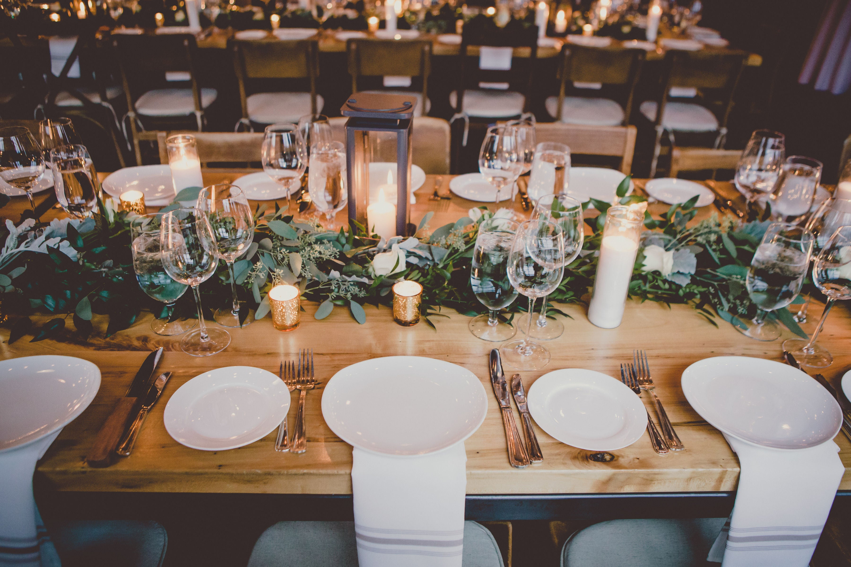 Toronto cafe, roastery and wedding and event venue with harvest tables
