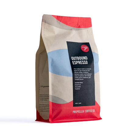 Outbound Espresso Retail 12oz & 5lb
