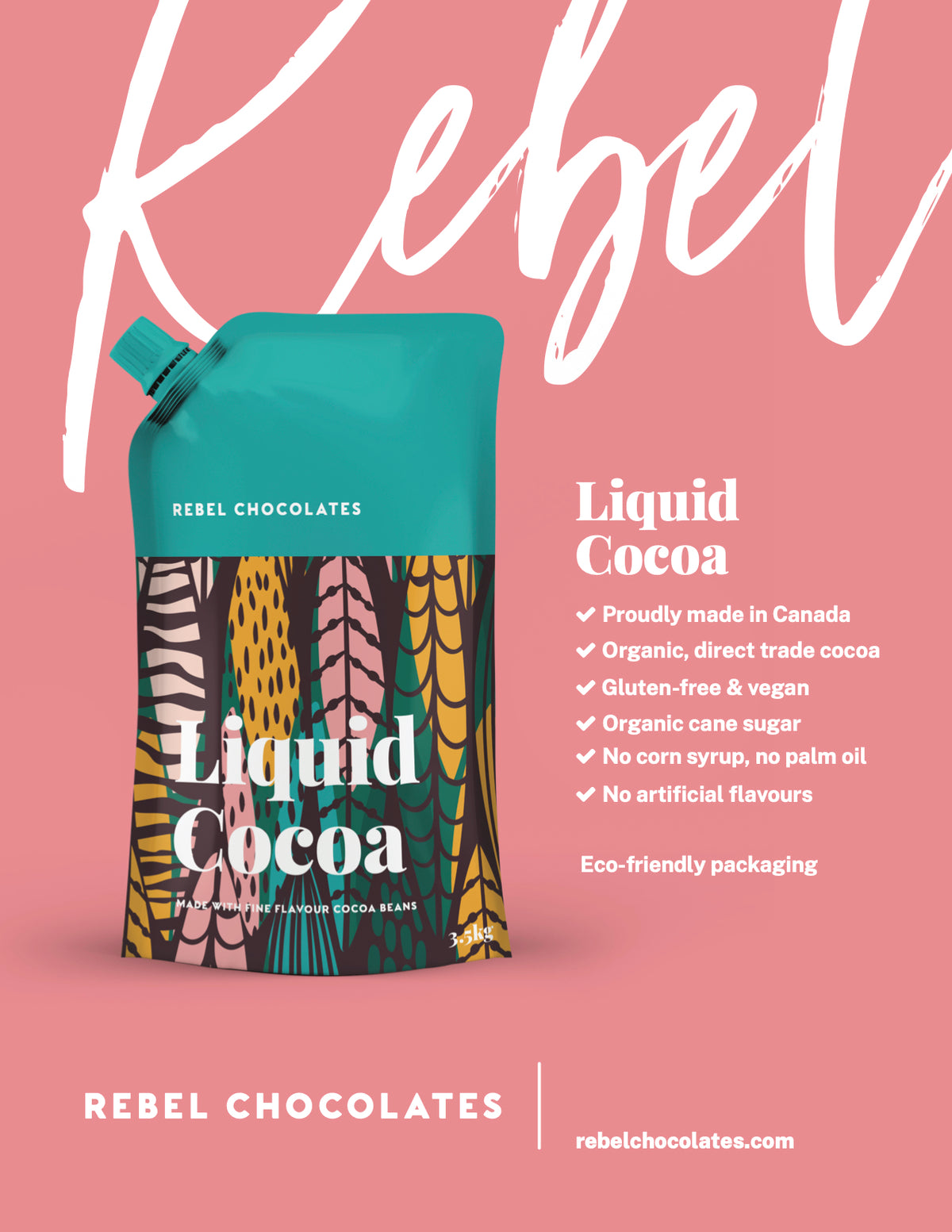 Rebel Chocolate Liquid Cocoa