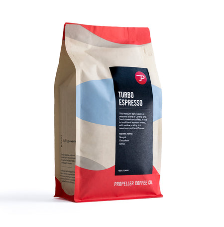 Turbo Espresso Retail 12oz & 5lb