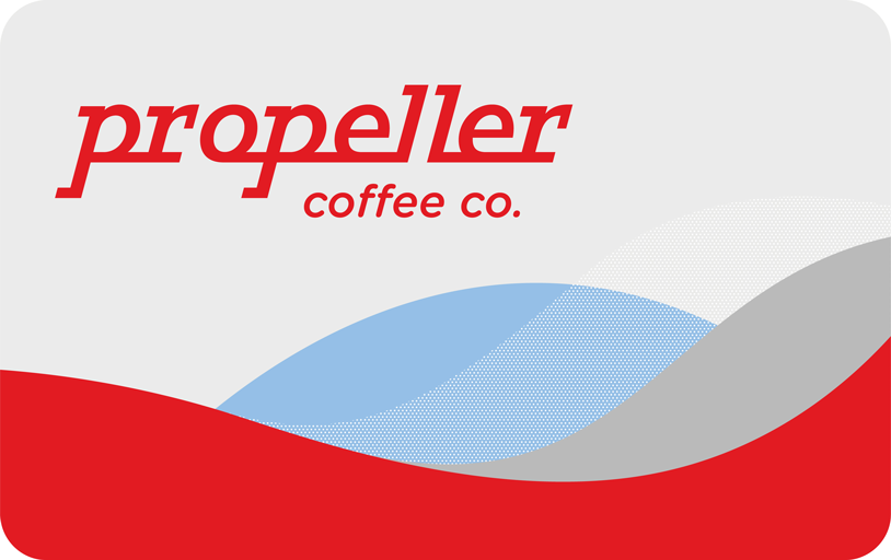 propeller specialty coffee roasters gift card - specialty coffee roasted in Toronto, Ontario, Canada