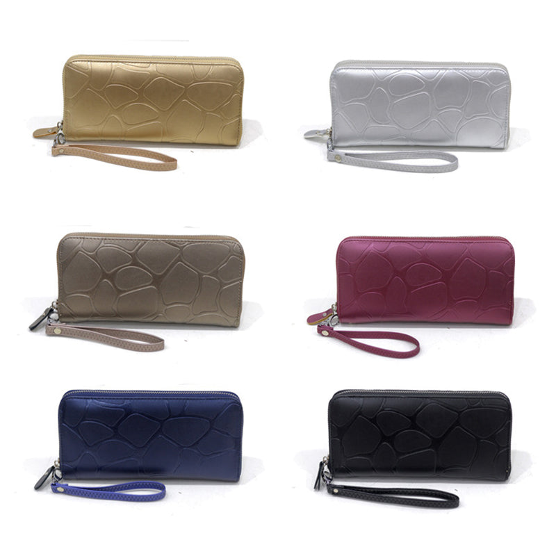 Embossed Long Purse