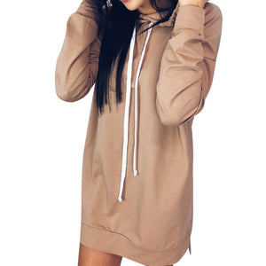 STYLISH WOMAN CASUAL HOODIE