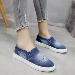 Women Sneakers Denim Canvas Shoes Star Summer Casual Shoes Trainers Walking Shoes For Woman Zapatillas Deportivas Mujer