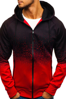 Men's  Zipper Sweatshirt