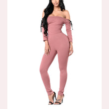 Load image into Gallery viewer, Cutaway Collar Strap Jumpsuit
