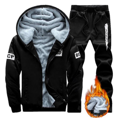 Men Warm Thicker Sport Suit
