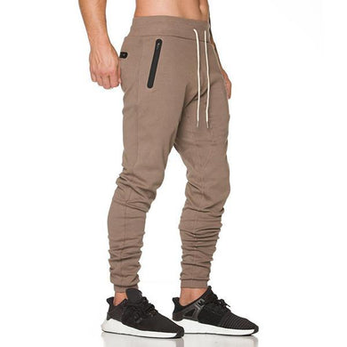 Fashion Solid Color Slim Casual Pants