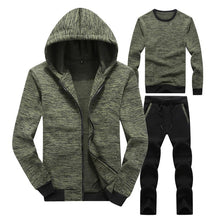Load image into Gallery viewer, Autumn And Winter Sports And Leisure Trend Mens Set