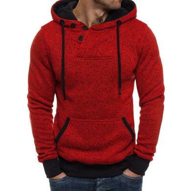 Fitness Men's Outdoor Running Pullover Long-Sleeved Hooded Sweater Sports Hoodie