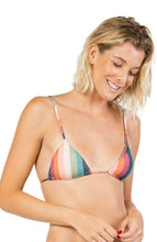 Rainbow Lines Triangle Top