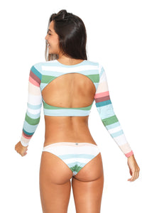 Surf Stripes Sunset Bikini