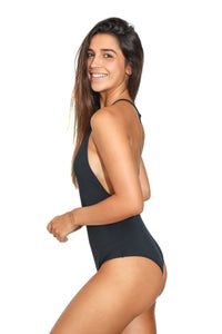 Tide Black One Piece
