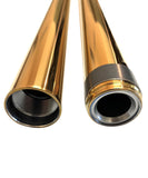 39mm Gold Titanium Nitrite Coated Fork Tubes