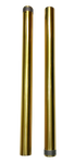 49mm, Dyna Fork Tubes, Gold TIN, 06-17 FXD