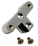 #114022 Replacement Fender Bracket Pro-One Lower Legs, Chrome, ea