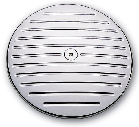 #202090 Pro-One Billet Air Cleaner Cover, 84-99 Big Twin, Ball Milled