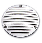 #202130 Derby Cover,Millennium, Ball-Milled,Chrome, Big Twins 70-98