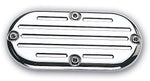 #202150 Inspection Cover,Ball Milled,Chrome, 84-06 FX/FL, FXST/FLST, FXWG, 93-05 FXDWG Models