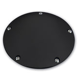 #203850B Derby Cover, Millennium, Smooth, Black, 99-2017 Big Twin Motors